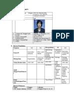 CV Prof Setyowati 2016