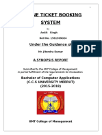 synosis of AIRLINE TICKET BOOKING SYSTEM.doc