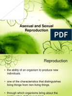 Asexual and Sexual Reproduction