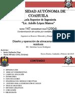 NOM-147-SEMARNAT/SSA1(2004) Contaminación de suelos por metales pesados