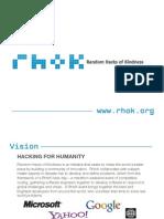 Rhok Intro Presentation