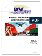 A project report on logistics management and supply chain management (Ambuj Roy).docx