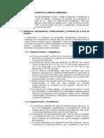 II.7 Síntesis de Diagnóstico Urbano Ambiental