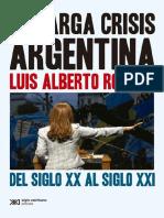 Mario Alberto Romero-La crisis Argentina.pdf