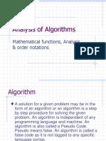 Lecture 01 - Algorithm & Flow Chart