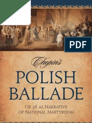 Chopins Polish Ballade: Op. 38 as Narrative of National Martyrdom