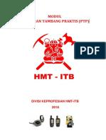 MODUL PELATIHAN TAMBANG PRAKTIS -2018.docx