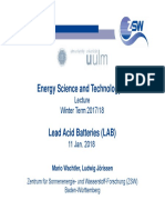 180111 Uni-Ulm Lecture EST3 ZSW Lead-Acid Batteries 1