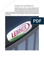 Buy Lennox Air Conditioner Dealers   GTA - Cambridge Heating & Cooling