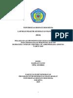 laporan PKL permit to work