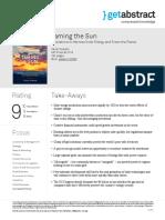 Taming the Sun Sivaram en 32685