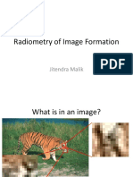 Radiometry of Image Formation (Computer Vision)
