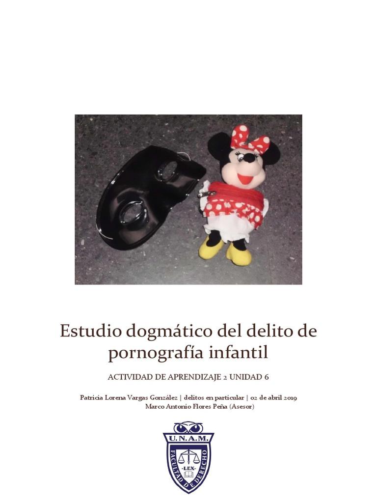 Actrices Porno De Aspecto Infantil estudio dogmático del delito de pornografía infantil.docx