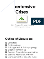 Dr Ib Mahendra - Work-shop Hypertensive Crisis