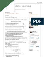 AEM Developer Learning