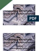 Geología Estructural_2 Unidad Clase 1