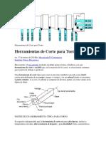 Herramientas de Corte para Torno.docx