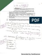 Quizes Management Principles
