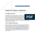 Chapter Six Memory Architecture