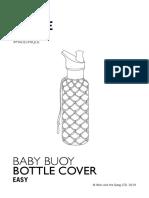 Baby Buoy Bottle Cover Pattern BBBTLC01 ENG