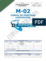 M-00 Manual de Identidad Corporativa