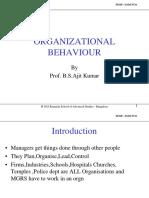 Organizational Behaviour BSAK