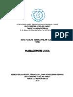 MANUAL Manajemen Luka Part 1 2018 Smt 3
