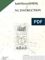 Mastech Ms8240b Digital Multimeter