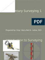 Elementary Surveying topic 1