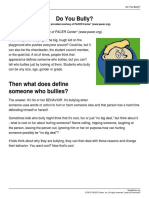 ReadWorks - Do You Bully