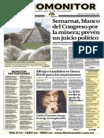 Portada Diario Monitor (Susan Sontag)