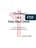 The Fame of a Dead Man's Deeds