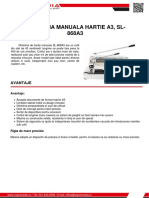 Ghilotina Manuala Hartie a3 Sl 868a3 Z Spot Media SRL