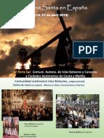 Semana Santa en el sur de España - segunda parte