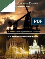 Semana Santa en el sur de España - primera parte