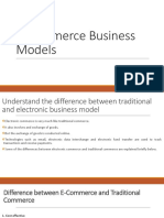 E-Commerce Business Models