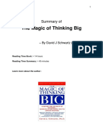 The Magic Thinking Big