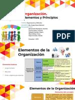TEMA Organización Elementos y Principios