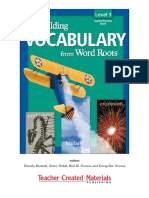 Building Vocabulary from Word Roots Level 3.pdf