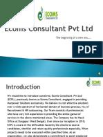 Company Profile ECPL SM MSME