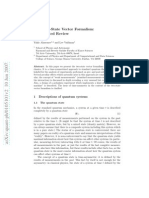 Aharonov - Two-state Vector Formalism of Qm