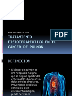 Tratamiento Fisioterapeutico en El Cancer de Pulmon