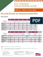 Horaires de bus entre Aurillac et Brive jusqu'au 5 Juillet 2019