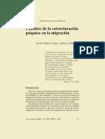 Cambios Estructura Psíquica Migración