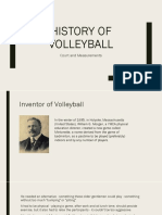 History of Volleyball