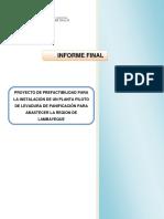 PROYECTO DE PREFACTIBILIDAD PARA LA INSTALACIÓN DE UN PLANTA PILOTO DE LEVADURA DE PANIFICACIÓN P.docx