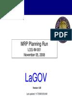 MRP Presentation