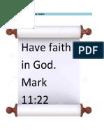 4th Grading Bible Grade 6 Answer