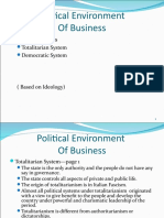 Political Environment Ppt