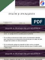 Dolor y Analgesia 2019